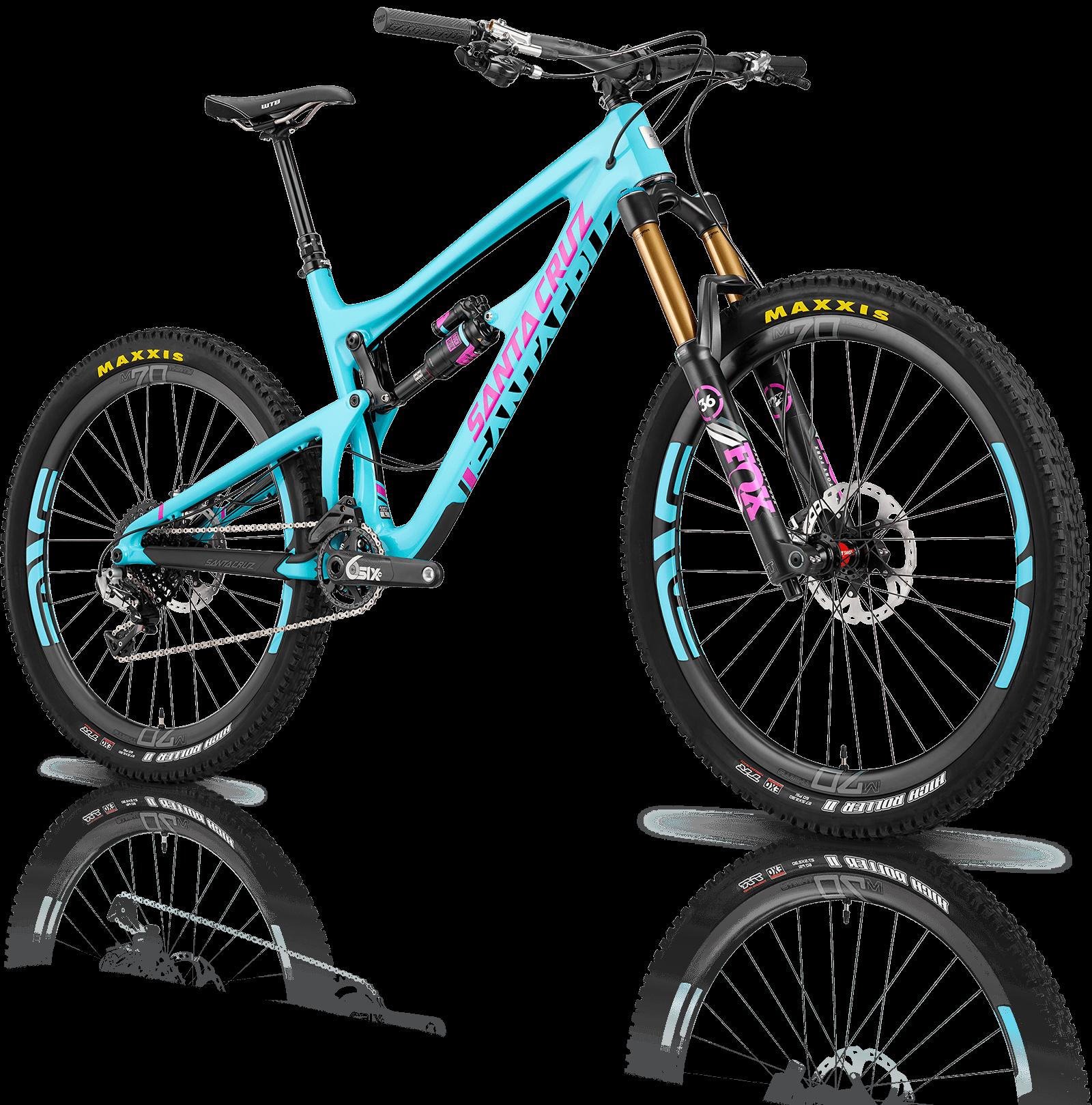 Santa Cruz Nomad with Enve wheels