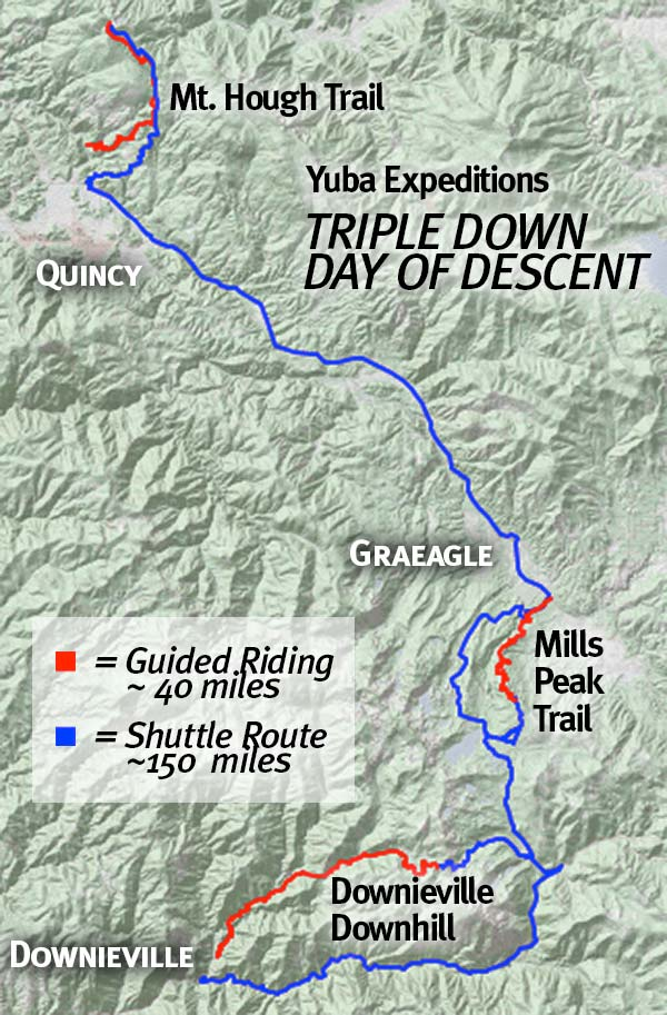 Yuba Expeditions Triple Down Day of Descent on